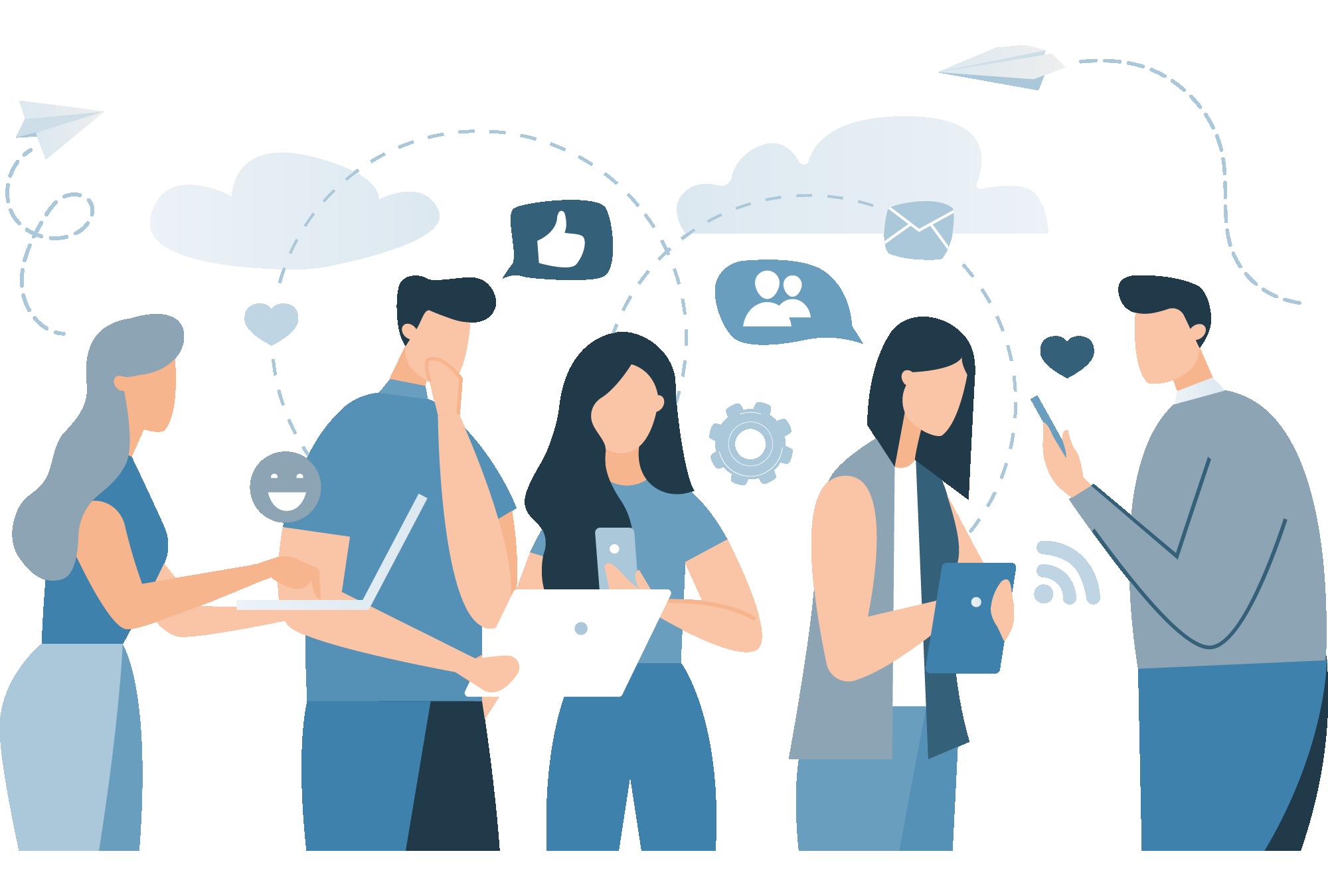 Connect communities